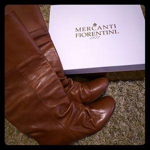 Mercanti Fiorentini leather boots eu38 us7-7.5